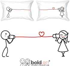 BOLDLOFTreg quotSay I Love Youquot His amp Hers Couple Pillowcases-Matching Couple GiftsChristmas Gi