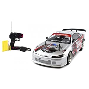 purchase electric full function 1 10 ct speed racing nissan silvia s13 10 mph rtr rc car colors. Black Bedroom Furniture Sets. Home Design Ideas