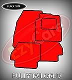 HONDA S2000 (99+) TAILORED CAR MATS RED & BLACK TRIM