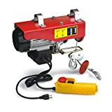1320 Lb Overhead Electric Hoist Crane Lift Garage Winch W/ Remote Control-Kaixun