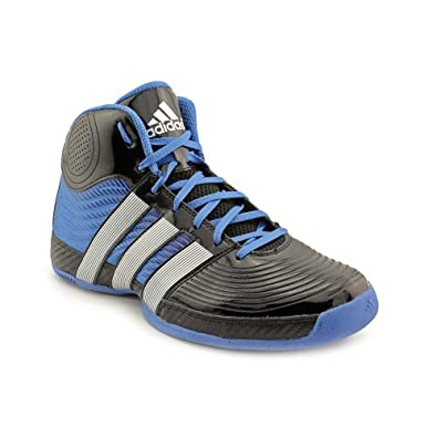 Buy Adidas Commander TD 4 Black Blue Mens Basketball Shoes by adidas