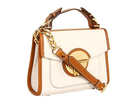 Michael Michael Kors Margo Medium Satchel Vanilla