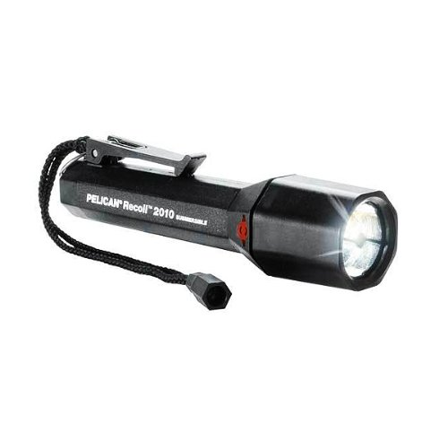 Pelican Nemo 2010N Led Dive Flashlight, Black