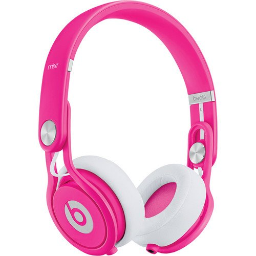 Beats By Dr Dre Bt-On-Mxr-Neon-Pnk Mixr On Ear Headphones - Neon Pink