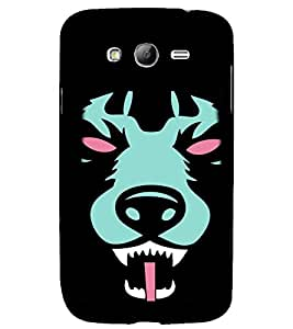 printtech Animal Scary Pattern Back Case Cover for Samsung Galaxy Grand i9080 / Samsung Galaxy Grand i9082