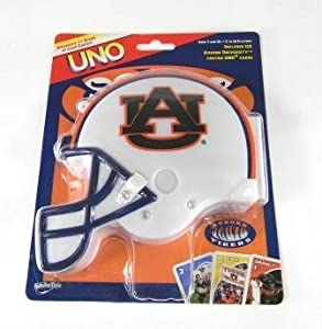 Buy Auburn Tigers Uno Game by Sababa Toys