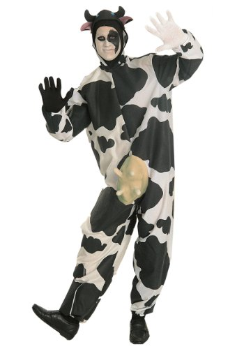 Comical Cow Costume - Adult Std.