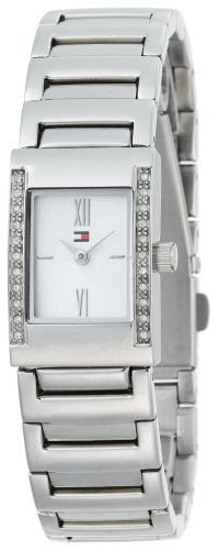 Tommy Hilfiger Women's 1780404 Crystal Accented Stainless Steel Bracelet Watch