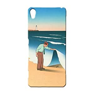 BLUEDIO Designer 3D Printed Back case cover for Sony Xperia X - G4077