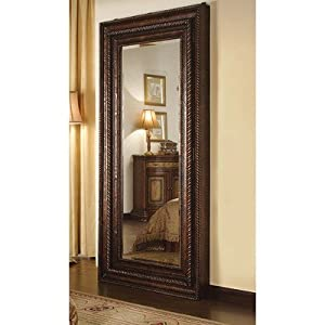 Hooker Furniture Seven Seas Floor Mirror w/ Hidden Jewelry Storage