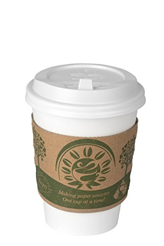 comfy-package-50-set-white-paper-cups-with-white-dome-lids-and-cup-sleeves-12-oz