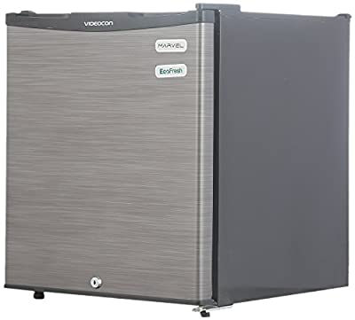 Videocon REF VC060PSH-FDW Direct-cool Refrigerator (47 Ltrs, Silver Hairline)
