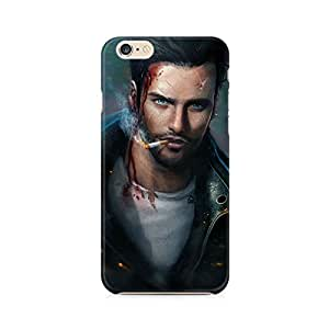 Mobicture Man Illustrated Premium Printed Case For Apple iPhone 6/6s with hole