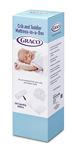 Find Bargain Graco Ultra Plush Foam Crib and Toddler Mattress-In-a-Box