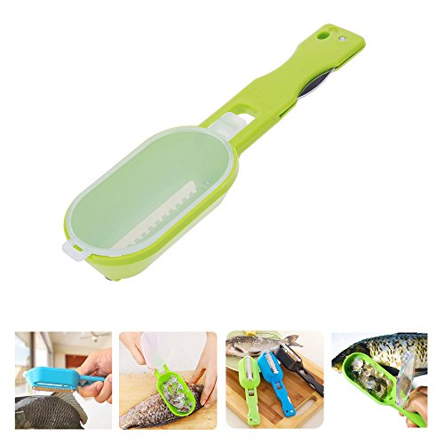 PyLios(TM) New Kitchen Accessories Gadgets Practical Fish Scaler Scale Scraper Clam Opener for Cleaning Scraping Fish Cooking Tools