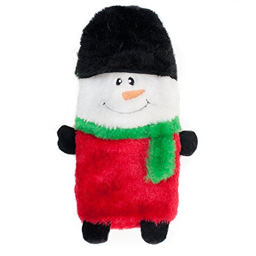 Large Holiday Buddie Snowman Squeaky Dog Toy