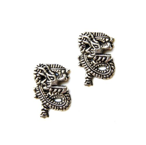 Dragon Cufflinks, Business Gift, Wedding Present, Gift Box Included