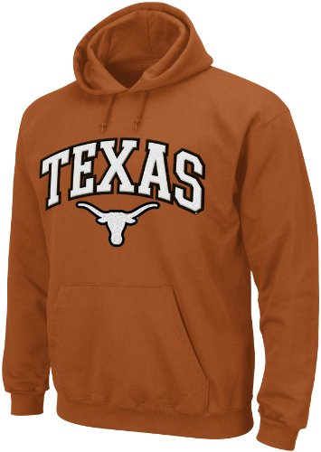 NCAA Texas Longhorns Men's Huddle Up 1 Hooded Sweatshirt, Large, Orange at Amazon.com