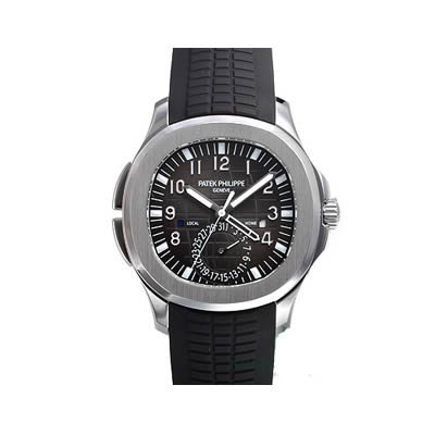 Patek Philippe Aquanaut Dual Time Men's Watch - 5164A-001