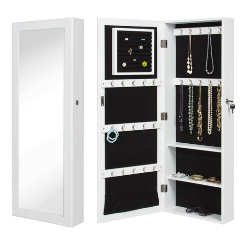 Wall mounted jewelry armoire - Armoire a bijoux murale ...