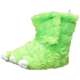 carter\'s Sasha2BS Slipper (Toddler/Little Kid), Green, Large/9-10 M US Toddler