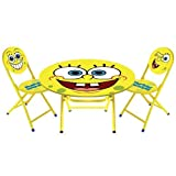 Spongebob Squarepants 3 Piece Table and Chair Set