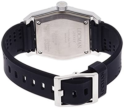LOCMAN watch stealth Mare Quartz rotating bezel Men's 0211 021100KA-BKASIK Men