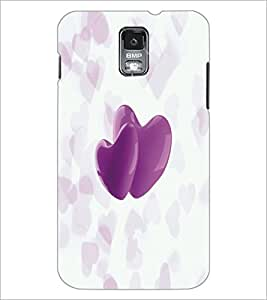 PrintDhaba Hearts D-4995 Back Case Cover for SAMSUNG GALAXY S5 (Multi-Coloured)