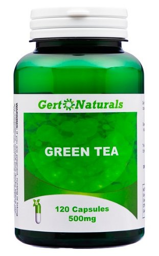 Gert Naturals, Green Tea, 500mg, 120 Capsules