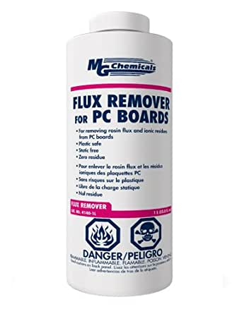 MG Chemicals 4140 Flux Remover for PC Boards, 1 Liter Liquid Bottle