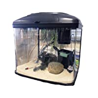 Interpet Fish Pod Glass Aquarium including Cartridge Filter System, 48 Litre