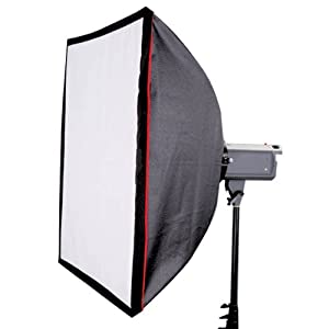 CowboyStudio 16 x 16in Photo Softbox for Studio Strobe with Carry Case and Speedring