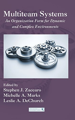 Multiteam Systems: An Organization Form for Dynamic and Complex Environments (Organization and Management Series)From Brand: Routledge