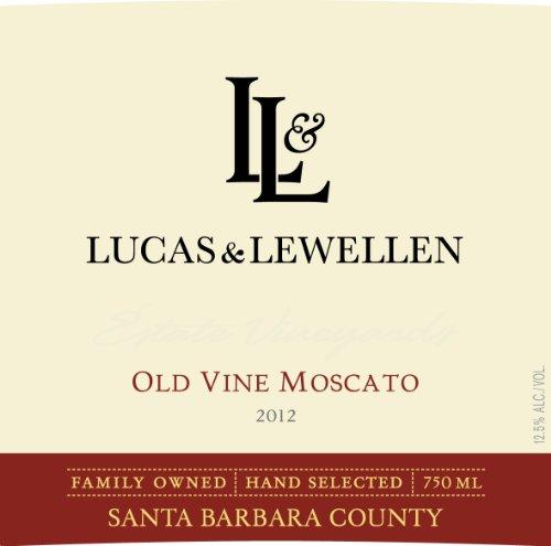 2012 Lucas & Lewellen Old Vine Moscato 750 Ml