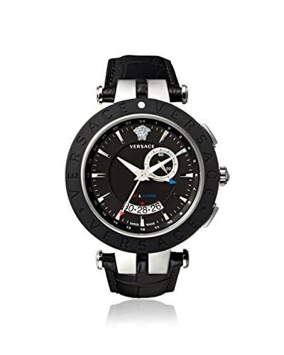 Versace Men's 29G9S9D009 S009 V-Race Black Calfskin Watch
