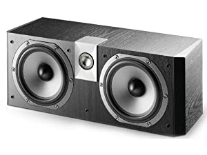 Focal CC 700V Center Channel Speaker - Black Ash