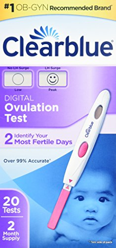 Clearblue Easy Digital Ovulation Test, 20 Count