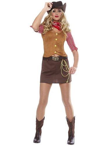 Gun Slinger Cowgirl Costume