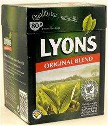 Lyons Original Tea Bags (80 Tea Bags)