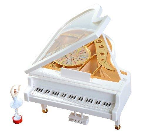SDBING Mechanical Classical Ballerina Girl on the Piano Music Box