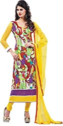 Porwal Bros Women's Dress Material (MF-1664_Multi-Coloured_Free Size)