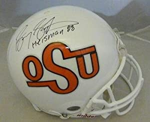 Barry Sanders Autographed F S Oklahoma State Cowboys ProLine Helmet- Auth - JSA... by Sports+Memorabilia