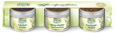 Fuchs Geschenkset Pfeffer Spezialitäten, 1er Pack (1 x 95 g) von Fuchs auf Gewürze Shop