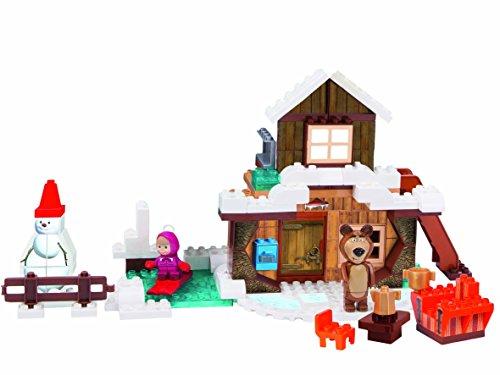 playbig-800057100-masha-costruzioni-122-pezzi-casa-inverno-di-orso