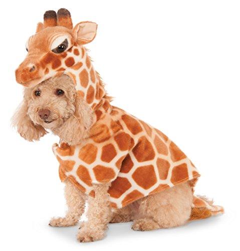 Giraffe Hoodie for Pet, Large