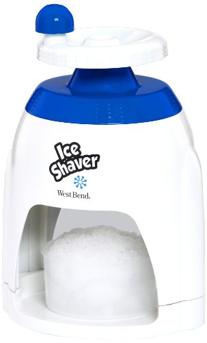 West Bend Sit12317 Manual Ice Shaver