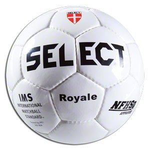 Select Sport America Royale Soccer Ball, White, Size 5
