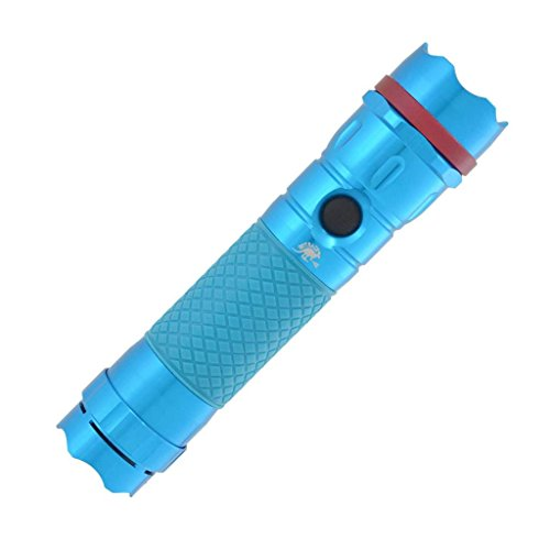 Outback Defender Pal Personal 120Db Alarm 1 Watt Led Flashlight Teal Blue
