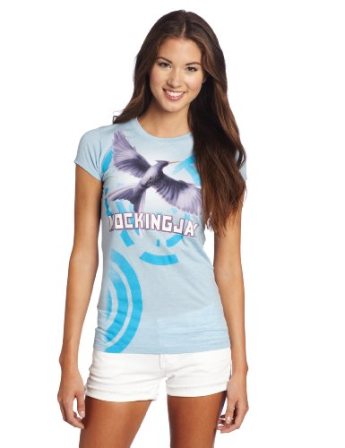 FEA Juniors Hunger Games Book Mockingjay Bookart Tissue Tee