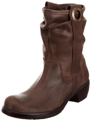 Fly London Women's Mary Ankle Boot Leather Suede Dark Brown P141310004 5 UK